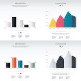 3D illustrazione digitale astratta Infographic Vettore Illustratio Fotografie Stock Libere da Diritti