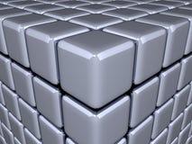 3D - Ilusão óptica Fotos de Stock