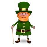 3D ilustracja święty Patrick ilustracja wektor