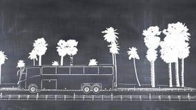 3D ilustracja blackboard Obraz Stock