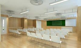 3d ilustracja nowożytny pokój konferencyjny Zdjęcia Stock