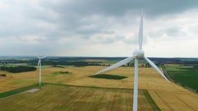 3d ilustracja odizolowywający władzy wiatr zbiory wideo