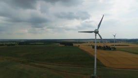 3d ilustracja odizolowywający władzy wiatr zdjęcie wideo