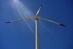 3d ilustracja odizolowywający władzy wiatr Fotografia Stock
