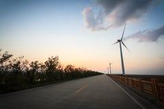3d ilustracja odizolowywający władzy wiatr Zdjęcie Stock