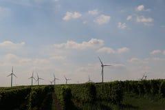 3d ilustracja odizolowywający władzy wiatr Obraz Stock