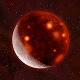 3D ilustracja piekło księżyc royalty ilustracja