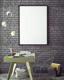 3D ilustracja plakat ramy szablon, workspace egzamin próbny up, tło, ilustracji
