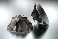 3D ilustracja Turbo impeller Zdjęcie Royalty Free