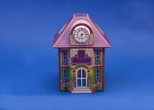 3 d ilustracji formie domu piękne wymiarowe model trzy bardzo Obraz Stock