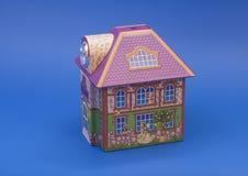 3 d ilustracji formie domu piękne wymiarowe model trzy bardzo Zdjęcia Stock