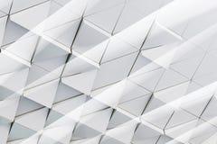 3D ilustracyjny abstrakcjonistyczny architektoniczny wzór Obraz Stock
