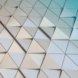3D ilustracyjny abstrakcjonistyczny architektoniczny wzór Fotografia Royalty Free
