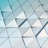 3D ilustracyjny abstrakcjonistyczny architektoniczny wzór Fotografia Stock