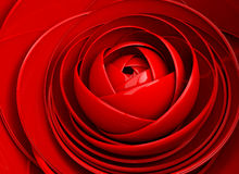 3D image abstract rose.Flower background Stock Photo