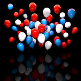 3d image of balloon Stock Photo