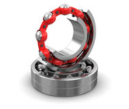 3d image of Bearings. Bearings. Image with clipping path Stock Photography