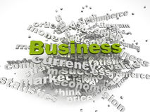 3d image Business issues concept word cloud background Stock Images