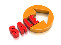 3d image of Sale Stock Photo