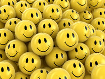 3d image of Smileys Royalty Free Stock Image