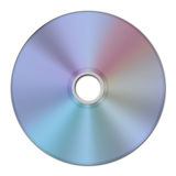 2D image texture of a CD or Compact Disc Royalty Free Stock Photography