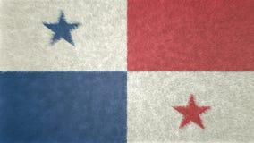 3D imagen original, bandera de ciudad de Panamá libre illustration