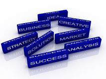 Business success concept Stock Photos