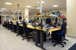 3D impressão - o FabLab científico italiano Imagem de Stock Royalty Free