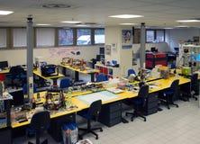 3D impressão - o FabLab científico italiano Imagem de Stock