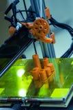 3D imprimant 1 Images libres de droits