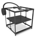 3D imprimante Black Photographie stock