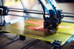 3D imprimante - impression de FDM Photos stock