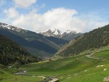 d'Incles de Vall en Andorra Imagen de archivo libre de regalías