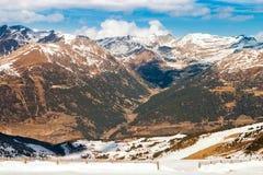 D`incles valley near Soldeu, Andorra Royalty Free Stock Photo