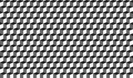3D inconsútil encajona el fondo del gráfico de vector Foto de archivo libre de regalías