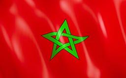 3d indicateur Maroc illustration de vecteur