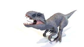 3d Indominus rex gang van backgorund, geeft terug royalty-vrije stock foto's