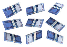 3D Indonesian rupiah money Royalty Free Stock Image