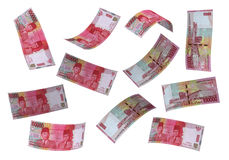 3D Indonesian rupiah money Royalty Free Stock Photo