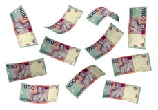 3D Indonesian rupiah money Stock Images