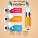 3D Infographic Graphisme de Smartphone Image stock