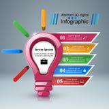 3D Infographic Smartphone symbol Royaltyfria Foton