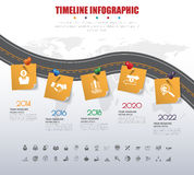 3d Infographic Template. Data Visualization. Can be used for wor. Kflow layout, number of options, steps, diagram, graph, presentation, timeline chart and web Royalty Free Illustration