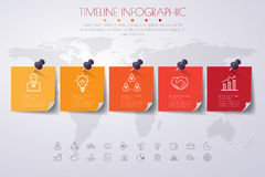 3d Infographic Template. Data Visualization. Can be used for wor. Kflow layout, number of options, steps, diagram, graph, presentation, timeline chart and web Stock Illustration