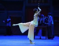 D'instrument-Le le plus précieux l'acte d'abord des événements de drame-Shawan de danse du passé Image libre de droits