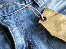 dżinsy mody Fotografia Royalty Free