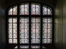 D'intérieur du palais de Cantacuzino, Busteni, vallée de Prahova, Roumanie image stock