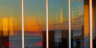 D'intérieur et extérieur - abstrait Image libre de droits