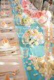d'intérieur installé par dîner de vintage Images libres de droits