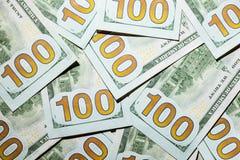 3 d interesy wiele przedmiotów dolarów Zdjęcia Stock